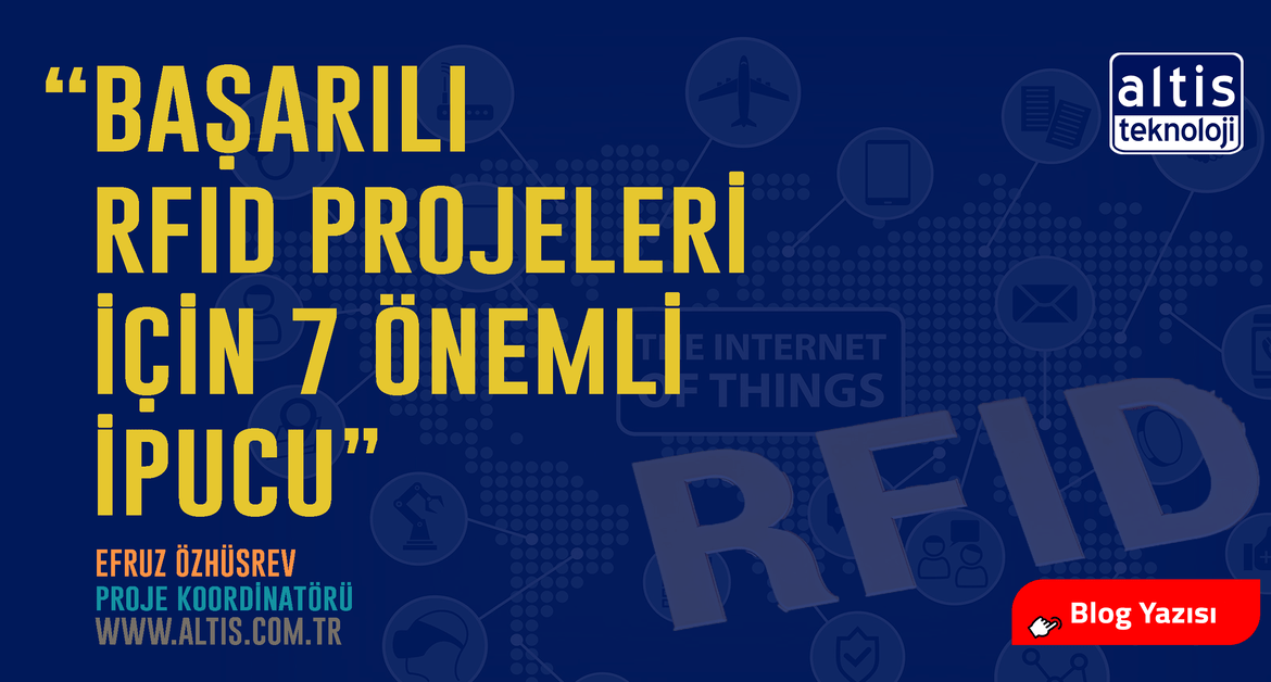 RFID, Teknoloji, Radio Frequency Identification, Blog Yazıcı, Altis Teknoloji