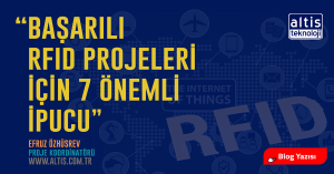 RFID, Teknoloji, Radio Frequency Identification, Blog Yazıcı, Altis Teknoloji